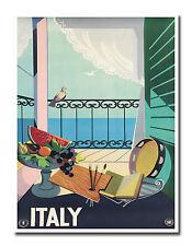 "Italian Decor Art Vintage Italy Travel Poster Print 12x16"" Rare Hot New XR657"