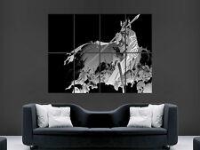 """SAMURAI SKULL WARRIOR SWORD ART WALL LARGE IMAGE GIANT POSTER """""""