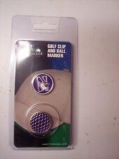Northwestern University Golf Hat Clip Round Ball Mark NEW