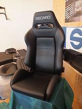 Recaro Speed Kunstleder schwarz 2 Sitze mit Konso Golf 1-2 mit Rechg. Neu!