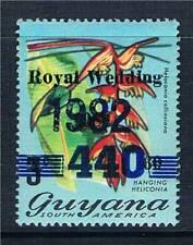 Guyana 1982 Overprint 440c on 60c on 3c SG 1004 MNH