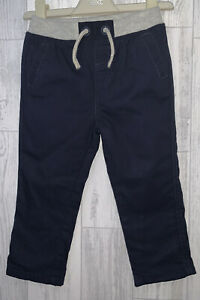 Boys Age 12-18 Months - Soft Waistband Bluezoo Cargo Trousers - Immaculate Cond