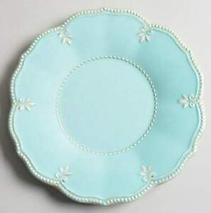 Lenox French Perle Ice Blue Melamine Salad Plate 11111253