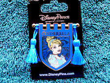 Disney * PRINCESS CINDERELLA * Tapestry Banner Series * New on Card Trading Pin