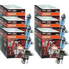 6x OSRAM NIGHT BREAKER UNLIMITED H4 +110% Glühbirne Lampe 12V 60/55 Watt P43t