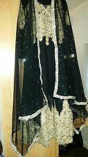 Asian clothes pakistani/Indian wedding dress Size S