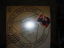 EMIL GILELS & FRITZ REINER & CHICAGO SYMPHONY BRAHMS CONCERTO NO. 2 1984