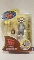 """JAZWARES TOYS HANNAH BARBERA TOM & JERRY """" TOM WITH MALET """"  3 """" ACTION FIGURE"""