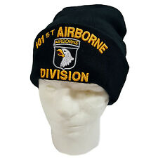 US Military101st Airborne Division Cuffed Beanie Knit Skull Cap