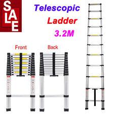 Multi-Purpose Aluminium Telescopic Ladder Fold Extensionn to 3.2M Max Load 150KG
