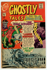 JERRY WEIST ESTATE: GHOSTLY TALES #73 Ditko & MANY GHOSTS OF DR GRAVES #25 VG+