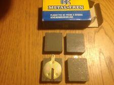 brake pads ftont &rear jaguar mk2 and etype si3.8 and daimler v8 2.5 fit 1950-on