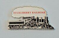 Vintage Huckleberry Railroad Souvenir Refrigerator Magnet Train Steam 7130