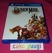 RAINBOW MOON SONY PS4 VERSION US LIMITED RUN #16 EN TRES BON ETAT ANGLAIS