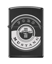 Zippo 1151 Ford Mustang Black Ebony Finish Lighter