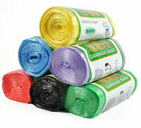 1Roll Bathroom Toilet Trash Bags Garbage Waste Clean-up Rubbish Home Supplies