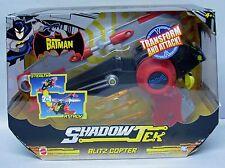 The Batman Shadow Tek Blitz Copter vehicle with Batman Mattel NIP 4+ S106-7
