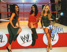 Kelly Kelly Signed WWE 11x14 Photo Divas Picture Auto Nikki Brie The Bella Twins