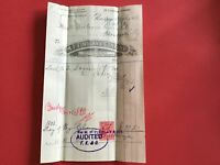 M.F. Findlay and Co Explosive Merchants 1905   Glasgow Saxonite  Receipt  R33018
