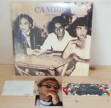 LP LUCIO DALLA Cambio (1990)con autografo originale + foto + segnalibri dipinto!