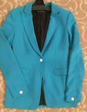 Rag and bone Notched Collar Turquoise Blazer Size 2