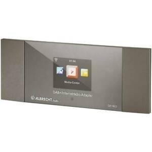 Albrecht DR 463 Internet Radio-Adapter DAB+, UKW Bluetooth®, DLNA,