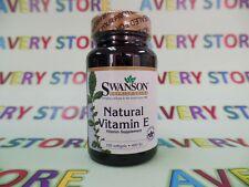 Natural Vitamin E 400IU 100 softgels