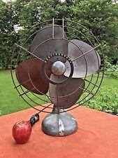 "Large Vintage WESTINGHOUSE Oscillating Art Deco Electric Fan Working 18""D"
