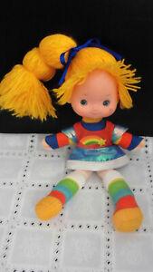 Regina Regenbogen Puppe Rainbow Brite Doll 28 cm Mattel 1984