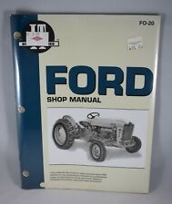 I&T Shop Service Manual FO20 FO-20 for Ford Series 501 600 601 700 701 800 801 +