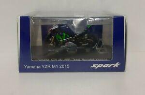 Spark 1/43 Modèle Moto Gp Yamaha M1 Lorenzo 2015 Modélisme Static Diecast