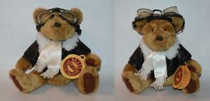 "Pickford Brass Button Collectables Plush 10"" RADAR Pilot Bear of Long Life w/Tag"