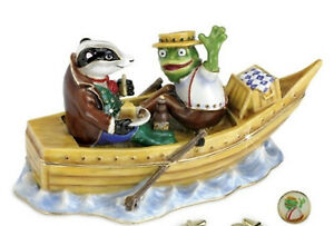 Wind in the Willows Limited Edition Trinket Box or Figurine Toad & Badger