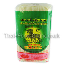 Authentic Thai Rice Stick Noodles (5mm) 400g by Kirin (R136) *** UK Seller ***