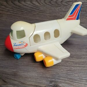 Vintage Toy Little People Plane Pull Toy Airplane Unbranded Hong Kong