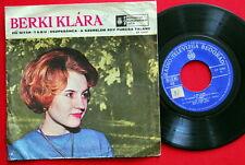 """BERKI KLARA GITAR POP VOCAL 1967 UNIQUE RARE EXYUGO 7"""" PS EP HUNGARIAN HUNGARY"""