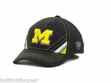 buy popular dfc95 abfe5 Michigan Wolverines NCAA Tow Pace Stretch Fitted Hat One Fit Size OS
