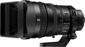 Sony G PZ 28-135mm lens, new with box