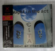 CAUGHT IN THE ACT - Heat Of Emotion JAPAN CD OBI XRCN-1285