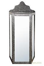 Dusx chaandhi Kar SPECCHIATO black-silver metallo sbalzato Pavimento Gabinetto 60x32x140cm