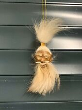 More details for genuine skin and hair shrunken head from ecuador oddity ready to hang