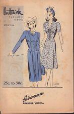 Butternick Fashion News April 1943 Heironimus 090618AME2