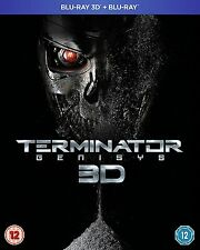 Terminator Genisys 3D + 2D Blu-Ray BRAND NEW Free Shipping