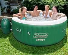 Outdoor Yard Pool Coleman LayZ SaluSpa Portable Relax Massage for 4-6 People