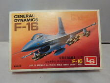 Vintage LS General Dynamics F-16 ~ US Air Force ~ 1/144 ~ Sealed Contents