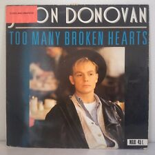 """Jason Donovan – Too Many Broken Hearts (Vinyl, 12"""", Maxi 45 Tours)"""
