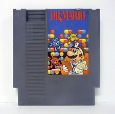DR MARIO Nintendo NES Game CLEANED & TESTED 1990