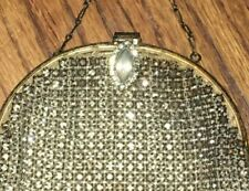 Fabulous Crystal Small Frame Bag Purse Sparkles Excellent Condition!