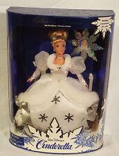 1996 Walt Disney's Cinderella Holiday Princess Barbie 1st in Series