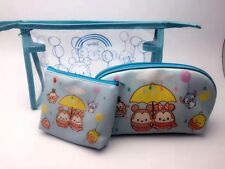 3PCS Disney TSUM mickey minnie PVC swimming storage bag coin bags money handbag